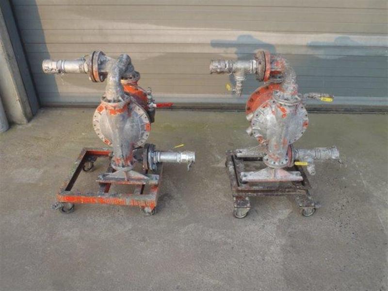 15 34 MA 09 WILDEN W800 Advanced Aluminium pump Diaphragm pump max 8